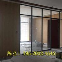 深圳办公室玻璃夹百叶帘隔墙生产厂家价格