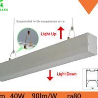 吊灯LED吊线灯 上下双面发光线条灯深圳工厂2835高亮办公室照明
