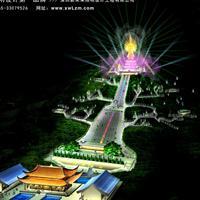 宗教旅游景点照明规划