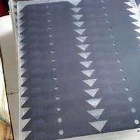 1.0加硬防花真空镀膜PC面板/PC面板丝印电镀加工厂