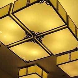 长沙市三青新中式灯饰,优选碳素钢材质,八米品牌新中式专卖店