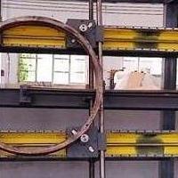 天津回转支承中频热处理淬火机床,回转支承感应透热加热淬火机床