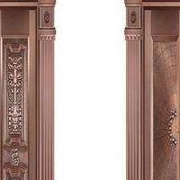 西安铜门,铜门价格,别墅铜门价格
