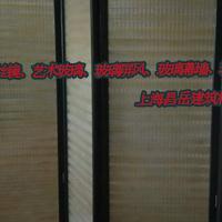 上海昌岳艺术玻璃屏风