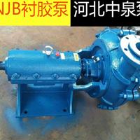PNJ衬胶泵安装尺寸_河北中泉泵业有限公司