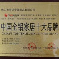 中国全铝家居十大品牌