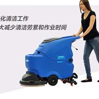 宜兴办公大楼清洗水泥地面用哪种洗地机好容恩R56BT全自动洗地机