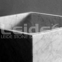 大理石洗手盆意大利卡拉拉白台上盆