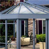 别墅会所阳光房 露台玻璃铝合金玻璃房小区阳光房货源地