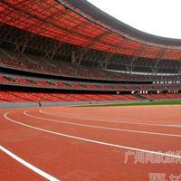 广州同欣预制型橡胶跑道山西太原体育中心案例透气型跑道