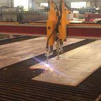 新型金属板材数控下料机
