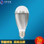 厂家直销家用应急节能塑包铝led球形灯泡e14e27无铅铝球泡灯