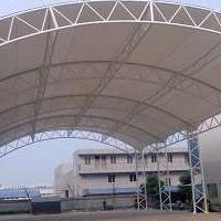 供应大连旅顺 膜结构车棚 膜结构遮阳棚 雨棚