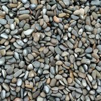 厂家直销 天然鹅卵石 机制抛光河卵石单色杂色鹅卵石