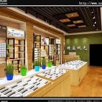 郑州 眼镜店展柜设计装修 免费上门测量
