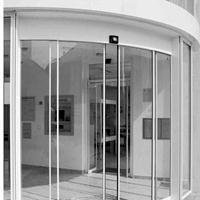 玻璃弧形自动门厂家直接供应安装