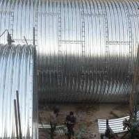 钢波纹涵管规格型号  金属波纹管涵的价格表