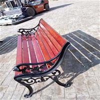 公园椅河北户外公园休闲椅 防腐木园林椅靠背围树椅