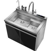 品冠集成水槽带洗碗机WS90