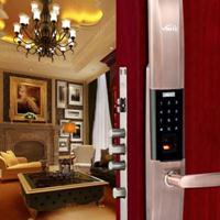 因特指纹锁家用智能电子密码锁 防盗门锁Y3100【指纹 密码 钥匙】