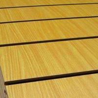 供应MDF中纤板饰面榉木色