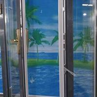 热销高端产品贝科利尔牌铝包木门窗搭配密码锁时尚大气