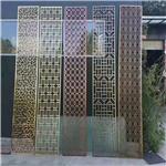 安徽铜陵木纹艺术铝合金窗 铝花格 防盗网 中式欧式厂家定制直销