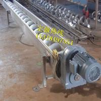 水平输送的螺旋提升机 铁岭螺旋输送机的厂家