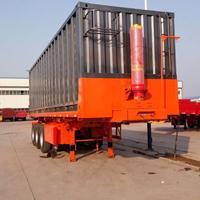 13米低平板半挂车 后翻自卸半挂车、粉粒物料(散装水泥)罐车