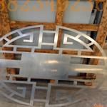 雕刻鋁窗花屏風 仿木雕花鋁幕墻