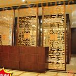 古典铝合金窗花,古典铝窗花定制厂家 隔断酒店铝花格