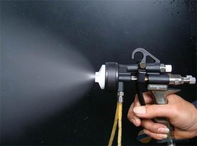 多彩漆喷枪使用方法 水包水多彩涂料为什么要用压力桶喷枪