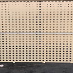 大小孔铝单板-室内不规则冲孔雕刻铝单板