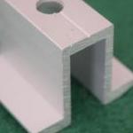 供应铝合金压块 光伏扣件