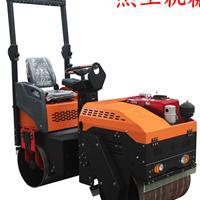 山东供应自重一吨驾驶式小型压路机双钢轮压路机
