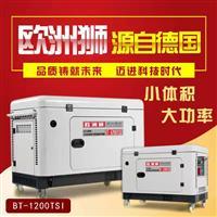12千瓦柴油发电机低碳环保