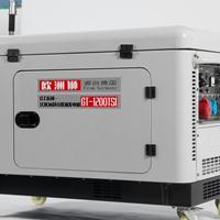8kw小型静音发电机组