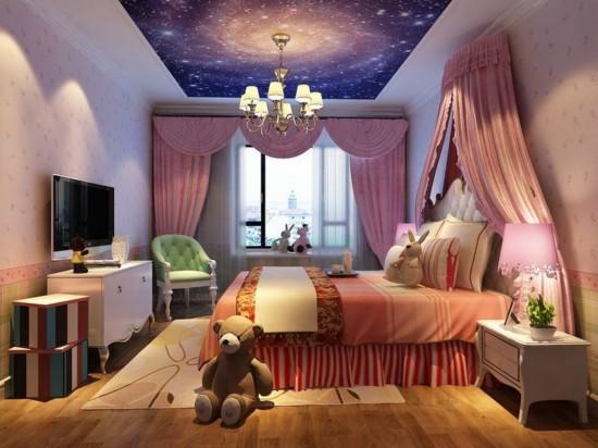 墙面漆颜色效果图 儿童房墙漆什么颜色效果图