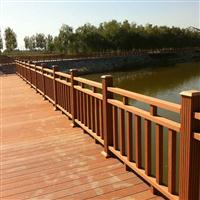 厂家定制 户外塑木栅栏庭院围栏花园塑木护栏 新型材料绿色环保