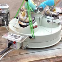 三头研磨机高校专用矿石制样机小型玛瑙研磨机设备