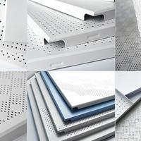 工程常规规格铝扣板 工厂现货优质铝方板 压花铝扣板