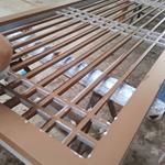 校区改造装饰铝合金花格挂落定制价格