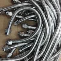 山东供应304双扣蛇形管 电缆保护双勾不锈钢金属软管20mm