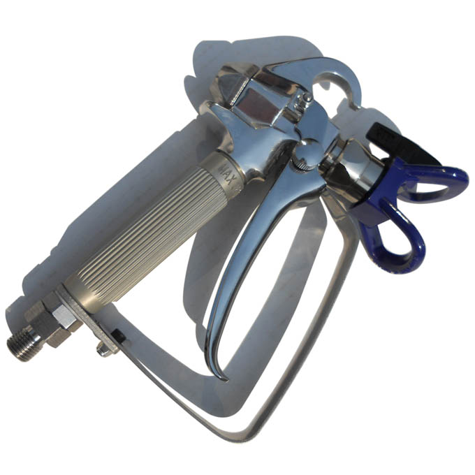 无气喷涂机使用步骤图 高压无气喷涂机不喷油了如何处理
