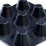 安阳放排水保护板 塑料夹层排水板厂家 质优价廉 领航土工