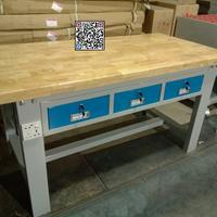 榉木台面装配平台,模具钳工装配平台,装配组榉木钳工台
