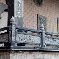 青石石雕栏杆-青石栏板-青石护栏厂家