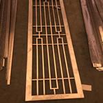 室内隔断幕墙装饰铝窗花铝雕花单板 艺术穿孔铝板