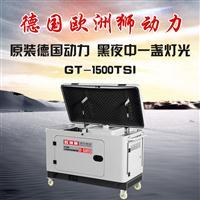 云南指定12000瓦柴油发电机静音式