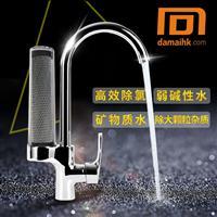 304不銹鋼廚房衛浴冷熱雙用全銅主體凈水龍頭阻垢除氯龍頭